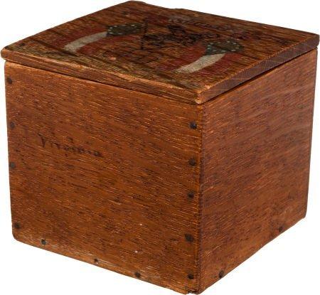 52011: Jefferson Davis: Personally-Used Tobacco Box.
