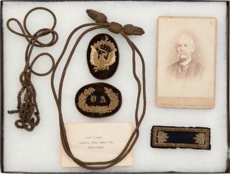 52020: Group of Items Belonging to Lt. Col. John S. Fla