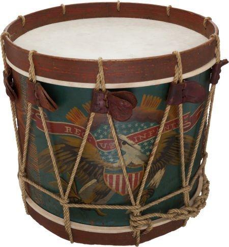 52024: Civil War U.S. Regulation Eagle Snare Drum