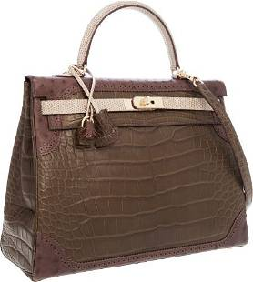 """56128: Hermes Limited Edition """"Grand Marriage"""" 35cm Mat"""