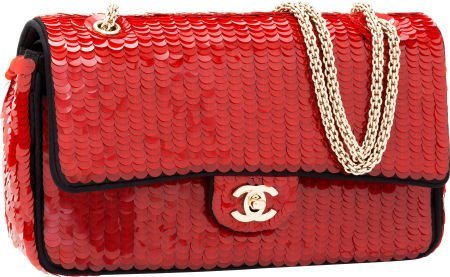 56262: Chanel Limited Edition Shanghai Collection Red P