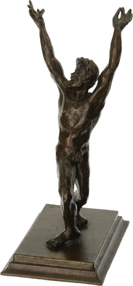 46158: A James Dean Nude Sculpture by Kenneth Kendall,