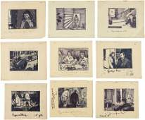 46174 A Collection of Original Storyboards from Casba