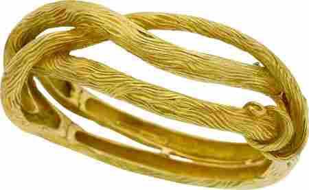 Gold Bracelet, Angela Cummings