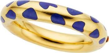 Lapis Lazuli, Gold Bracelet, Angela Cummings for
