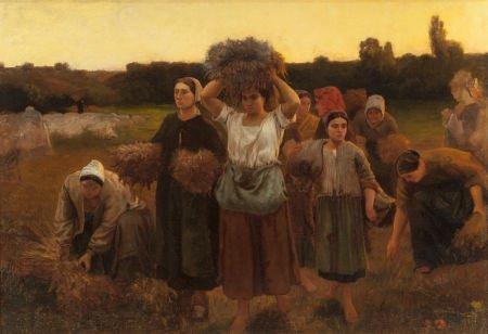 70005: FRANK C. PENFOLD (American, 1849-1921) Breton Wo