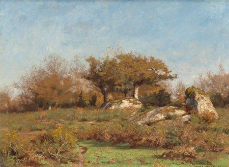 70006: WILLIAM LAMB PICKNELL (American, 1854-1897) Pont