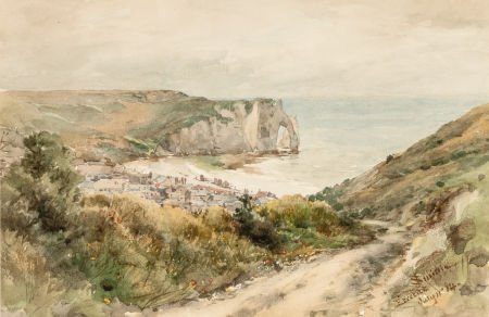 70008: JAMES DAVID SMILLIE (American, 1833-1909) The Cl