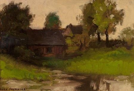 70012: ALEXIS JEAN FOURNIER (American, 1865-1948) House