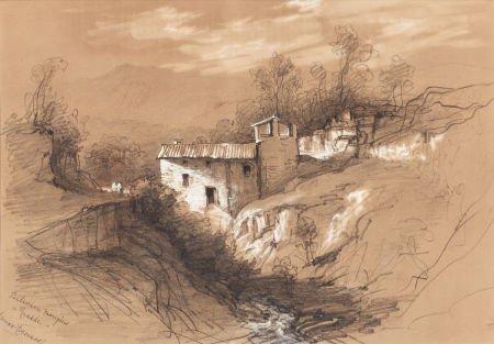70014: AMERICAN SCHOOL (19th Century) Provence Landscap