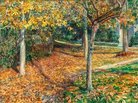 70021: WILL HICKOK LOW (American, 1853-1932) Carpet of