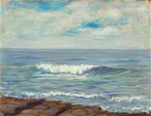 70124: STEPHEN SEYMOUR THOMAS (American, 1868-1956) Whi