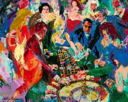 70176: LEROY NEIMAN (American, 1921-2012) Roulette II,