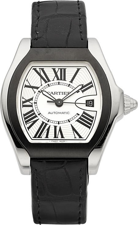 60085: Cartier Ref. 3312 Steel Roadster Automatic, circ