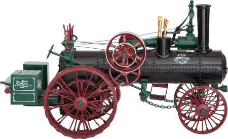 87018: LIVE STEAM SCALE MODEL GOODISON TRACTION ENGINE
