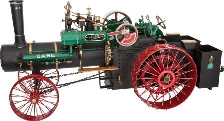 87019: LIVE STEAM SCALE MODEL CASE 25 HP STEAM TRACTOR