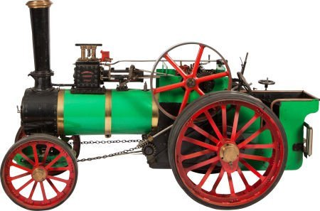 87020: VINTAGE LIVE STEAM FOWLER BB1 PLOUGHING ENGINE
