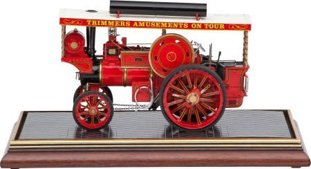 87023: LIVE STEAM SCALE MODEL SHOWMAN'S ROAD LOCOMOTIVE