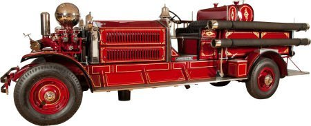 87058: 1928 AHRENS-FOX N-S-4 FULLY EQUIPPED FIRE TRUCK