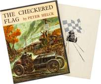 97093: Limited Boxed Edition Of The Checkered Flag By P