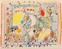 72002: PABLO PICASSO (Spanish, 1881-1973) Le Picador II