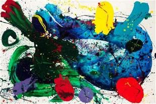 72083: SAM FRANCIS (American, 1923-1994) Untitled, 1988