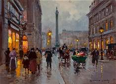 EDOUARD-LÉON CORTÈS (French, 1882-1969) Rue de l