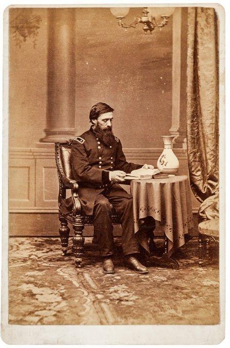49415: Union Major General John Aaron Rawlins: Albumen