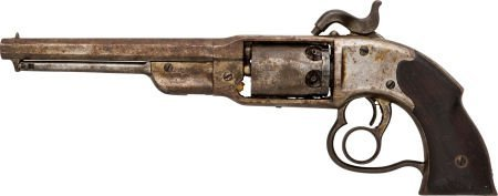 49660: Civil War Savage Navy Percussion Revolver - 2