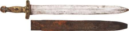 49547 Confederate Foot Artillery Sword With Original L