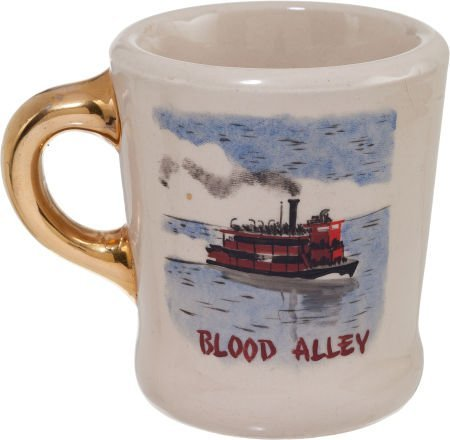 "89034: A John Wayne-Gifted Coffee Mug from ""Blood Alley"