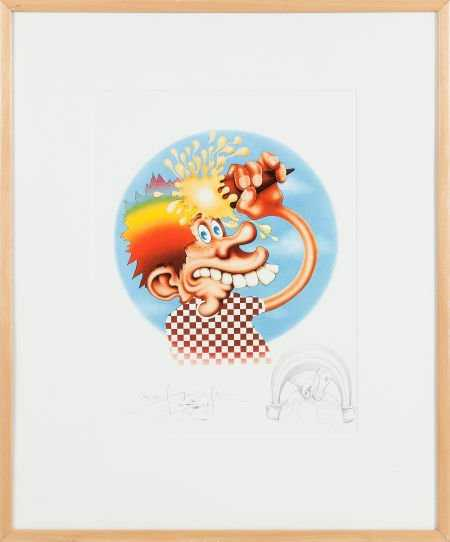 89385: Grateful Dead -- Stanley Mouse Ice Cream Kid Lim