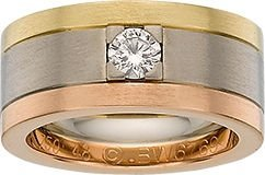 54091: Cartier Diamond, Gold Ring