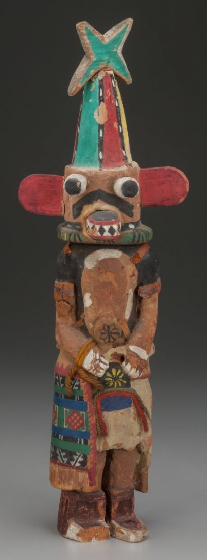71003: A HOPI COTTONWOOD KACHINA DOLL Possibly Otto Pen