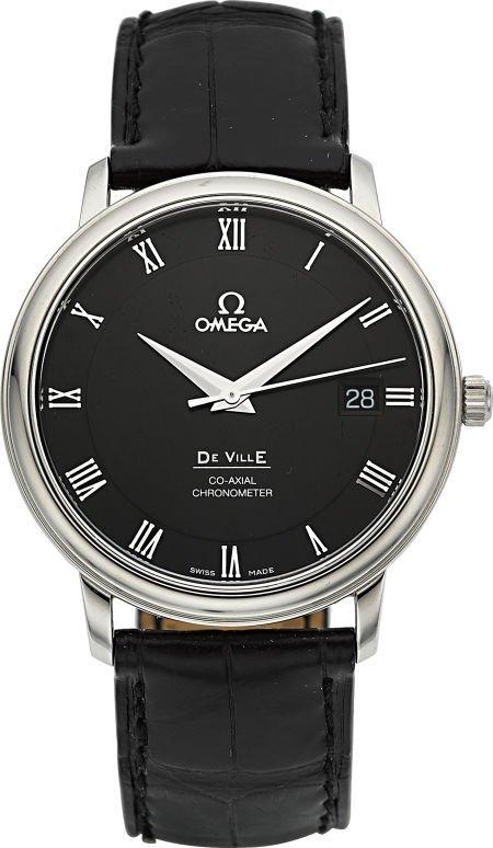 56017: Omega De Ville Co-Axial Chronometer Ref. 168.105
