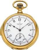 56138 Tiffany  Co Very Fine Gold Five Minute Repeate