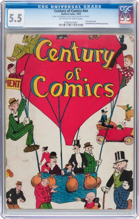 Century of Comics #nn (Eastern Color, 1933) CGC
