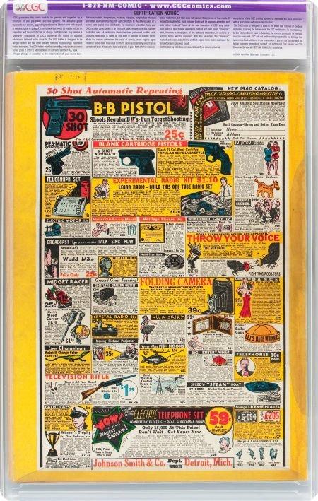 91091: Detective Comics #33 (DC, 1939) CGC Apparent FN  - 2