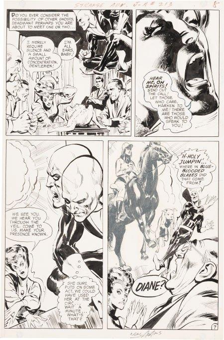 "92001: Neal Adams Strange Adventures #213 ""The Call Fro"