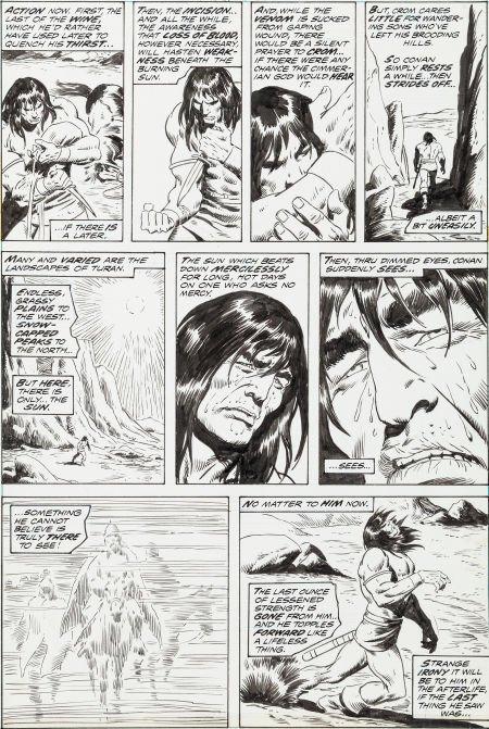 "92005: John Buscema Conan the Barbarian #39 ""Dragon Fro"