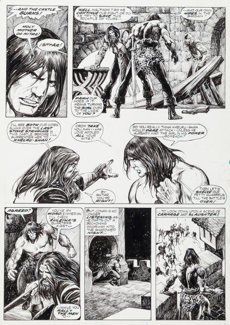 92006: John Buscema and Alfredo Alcala Savage Sword of