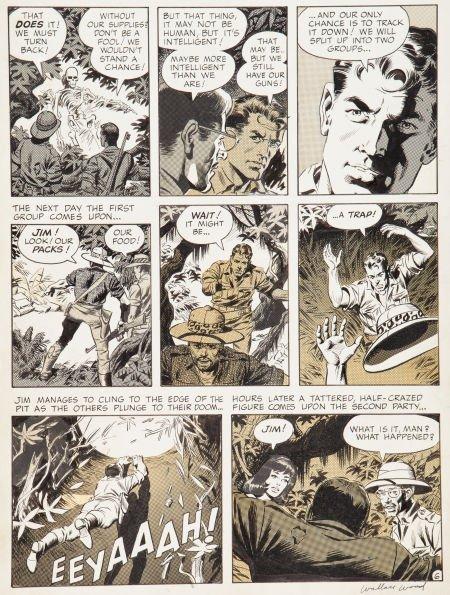 "92017: Wally Wood Witzend #1 ""Animan"" Page 6 Original A"
