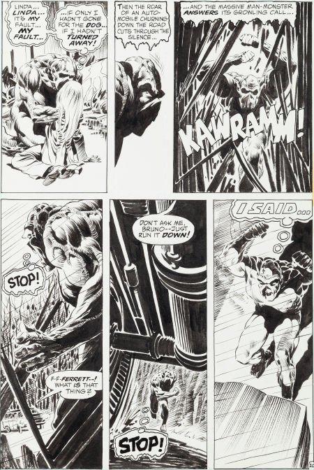 "92018: Bernie Wrightson Swamp Thing #1 ""Dark Genesis"" P"