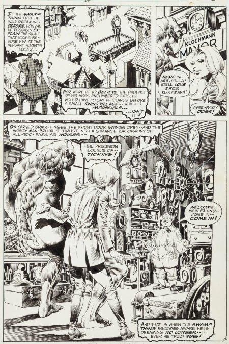 "92020: Bernie Wrightson Swamp Thing #6 ""A Clockwork Hor"