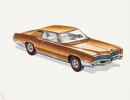 92237: Hot Wheels Cadillac Eldorado Concept Original Ar