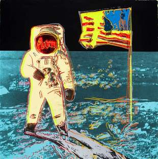70105: ANDY WARHOL (American, 1928-1987) Moonwalk, 1987