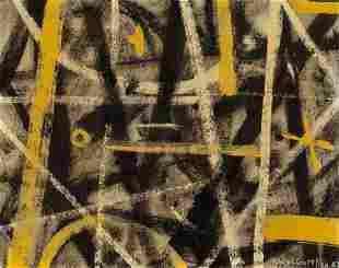 70030: ADOLPH GOTTLIEB (American, 1903-1974) Labyrinth,