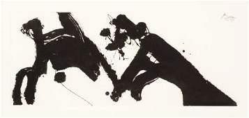 70037: ROBERT MOTHERWELL (American, 1915-1991) Dance I,