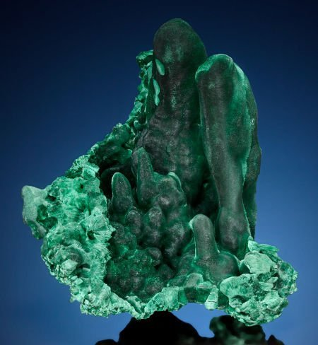 73020: MALACHITE Liufengshan Mine, Guichi District, Chi