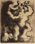 62098 JACQUES LIPCHITZ French 18911973 Theseus and